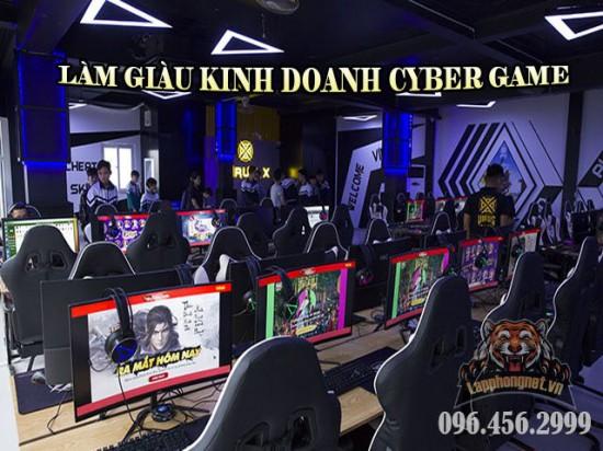 LẮP ĐẶT PHÒNG NET CYBER GAME