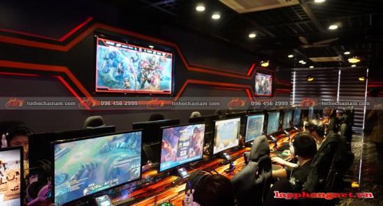 Tư vấn chọn màn hình cho phòng net game